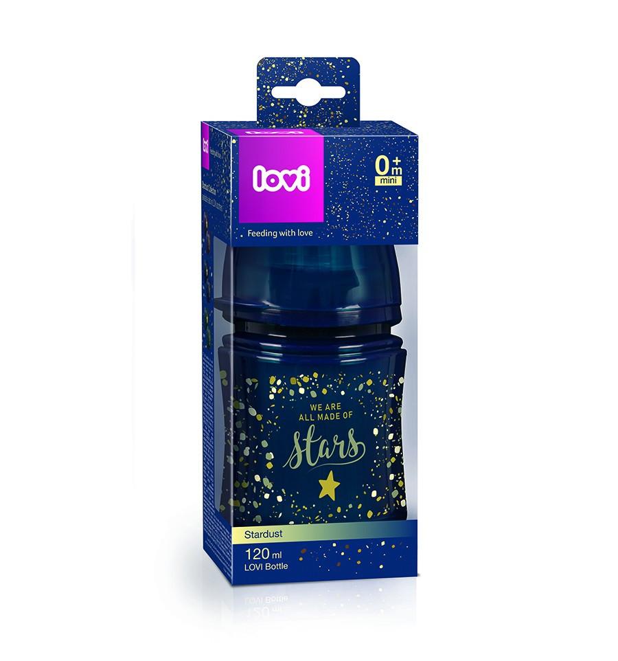 Lovi dojčenská fľaša Stardust 120 ml 0 m+