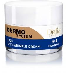 Delia DERMO SYSTEM protivráskový krem na tvár 50 ml
