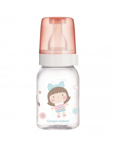 Canpol babies Dojčenská fľaša sklo dekor 120 ml 3m+