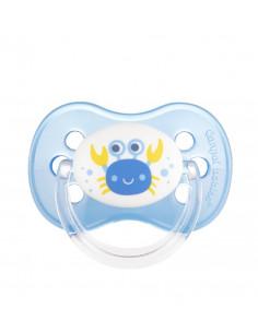 Canpol babies Cumlík utišujúci Love&Sea silikón okrúhly A 0-6m