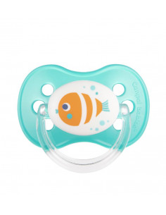 Canpol babies Cumlík utišujúci Love&Sea silikón okrúhly B 6-18m