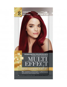 Multi Effect Color farbiaci šampón - Červené ríbezle 005