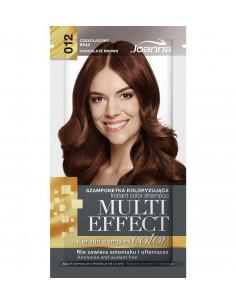 Multi Effect Color - farbiaci šampón - Čokoládová hnedá (012)