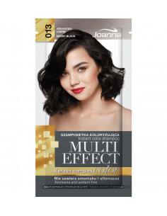 Multi Effect Color farbiaci šampón - Ebenová čierna 013