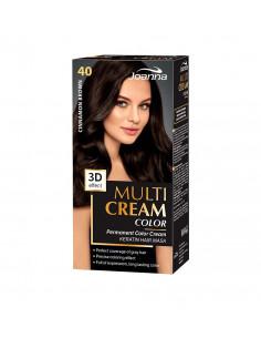 Multi Cream Color farba na vlasy - Škoricová hnedá 040